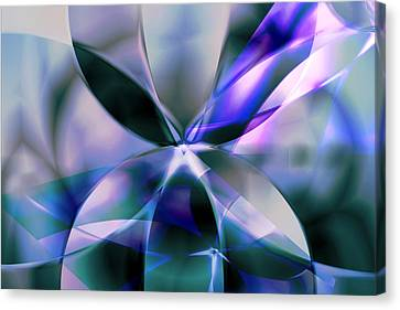 Flower Reflections Canvas Print