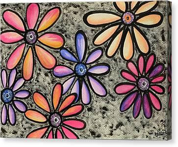 Flower Series 4 Canvas Print by Graciela Bello