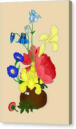 Floral Still Life 1674 Canvas Print