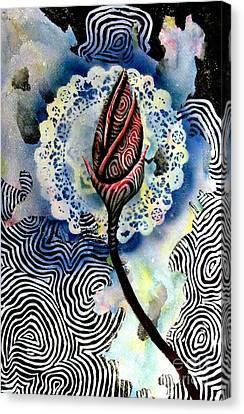 Flower Study 1 Canvas Print by Luke Galutia