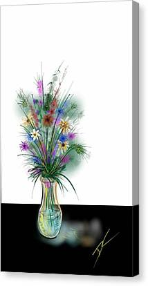 Flower Study One Canvas Print