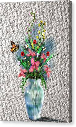 Flower Study Three Canvas Print