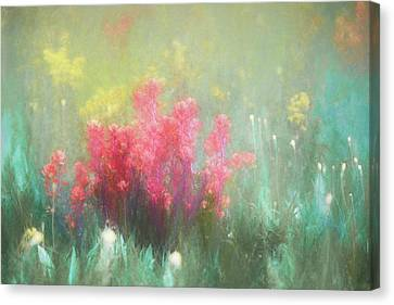 Canvas Print featuring the photograph Flowering Prairie by James Barber