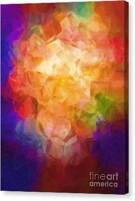 Flowerpot Canvas Print by Lutz Baar
