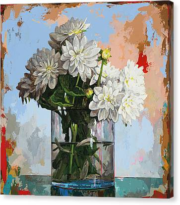 Flowers #11 Canvas Print by David Palmer