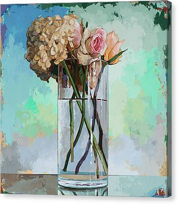 Flowers #18 Canvas Print by David Palmer