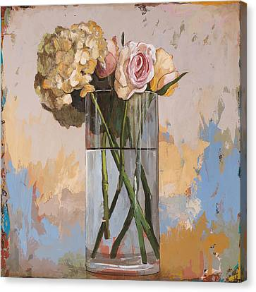 Flowers #2 Canvas Print by David Palmer
