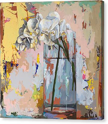 Flowers #3 Canvas Print by David Palmer