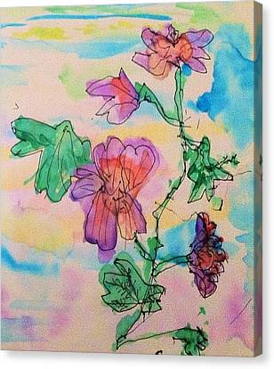 Flowers Are Blooming  Canvas Print