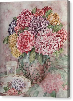 Flowers Arrangement  Canvas Print by Kim Tran