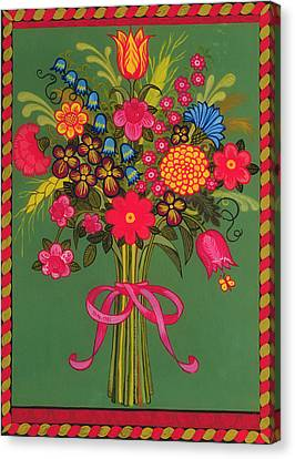 Flowers Canvas Print by Ditz
