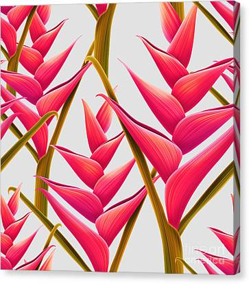 Flowers Fantasia   Canvas Print by Mark Ashkenazi