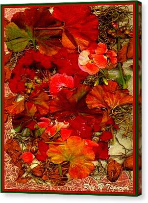 Flowers For You Canvas Print by Ray Tapajna