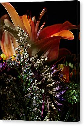 Flowers 2 Canvas Print by Stuart Turnbull