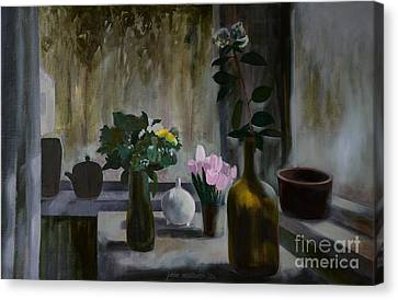Flowers Canvas Print by Jukka Nopsanen