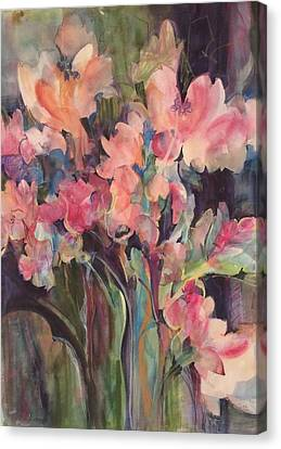 Flowers Of Summer Canvas Print