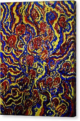 Flowers Of The Volcano Canvas Print by Brenda Adams