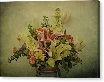 Flowers Canvas Print by Sandy Keeton