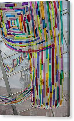 Flowing Color Canvas Print
