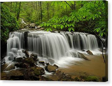 Flowing Easy Canvas Print