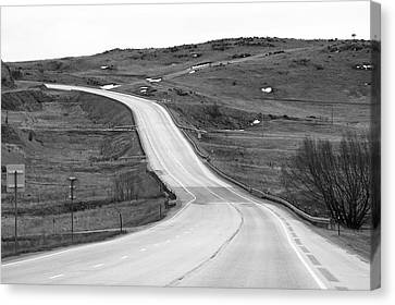 Flowing Highway Canvas Print by James Steele