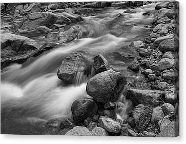 Canvas Print featuring the photograph Flowing Rocks by James BO Insogna