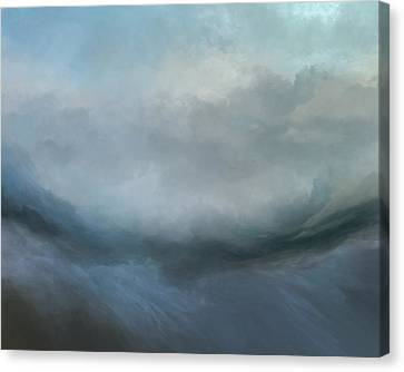 Stormy Canvas Print - Flowing Tides by Lonnie Christopher