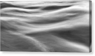 Rapids Canvas Print - Flowing Water by Scott Norris