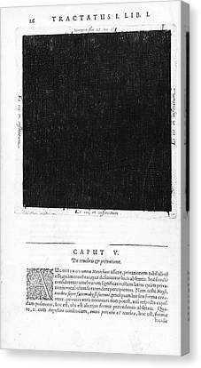 Fludds Dark Universe, 1617 Canvas Print by Wellcome Images