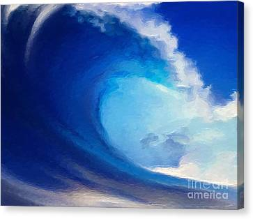 Fluid Canvas Print by Anthony Fishburne