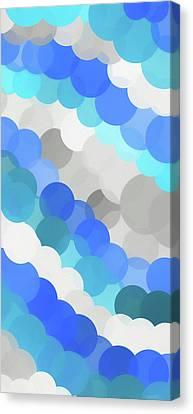 Fluid Canvas Print by Dan Sproul