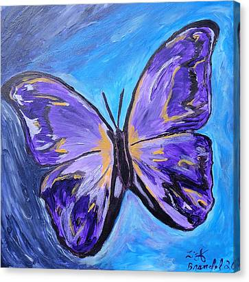 Flutterby Bring The Light Canvas Print