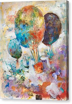 Fly Away To Creativity Canvas Print