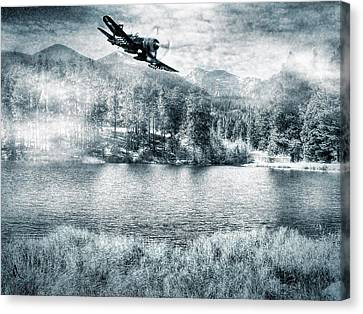 Fly Boy Canvas Print
