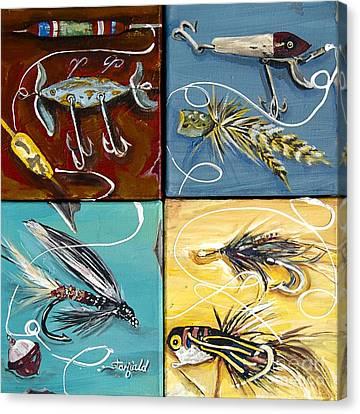 Fly Fishing II  Canvas Print