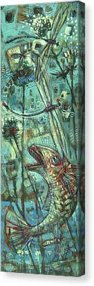 Fly Fishing Canvas Print by Nato  Gomes