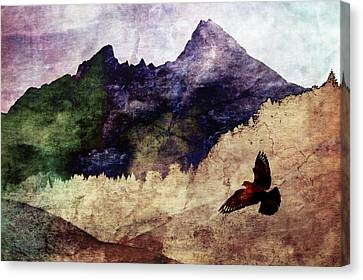 Susann Serfezi Canvas Print - Fly High by AugenWerk Susann Serfezi