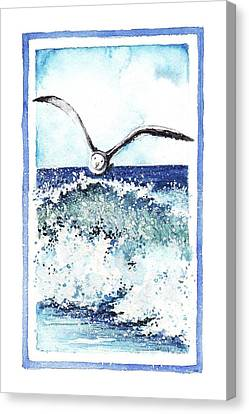 Canvas Print featuring the painting Fly High by Heidi Kriel