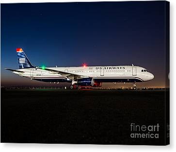 Fly With Us Canvas Print by Alex Esguerra