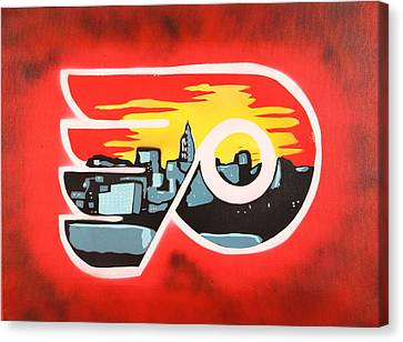 Flyers Canvas Print by Tom Evans