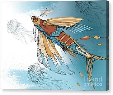Fly_fish Canvas Print