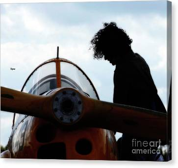 Flygirl  Canvas Print