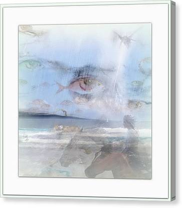 Flying Fishes Canvas Print