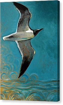 Flying Free Canvas Print by Suzanne McKee