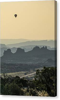 National Park Canvas Print - Flying High by Gregory Ballos