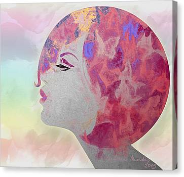 Profile Canvas Print - Flying In The Rainbow by Andrea Ribeiro