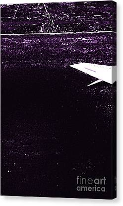 Salt Air Canvas Print - Flying Over The Coast 7 by Micah May