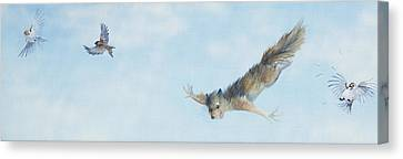 Flying Squirrel Canvas Print