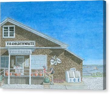 F.o. Goldthwaite Canvas Print