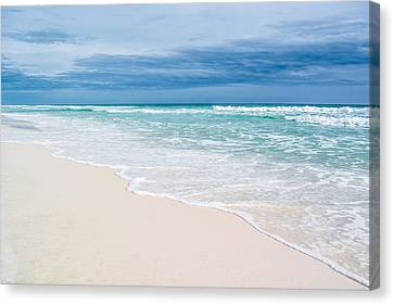 Foamy Waters Canvas Print by Shelby Young